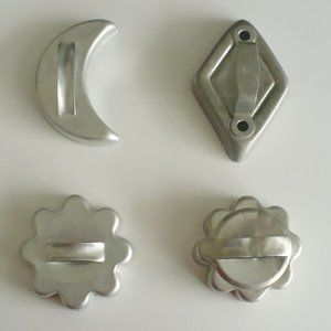 ❤️Cookie Cutters Metal Diamond, Moon & 2 Suns